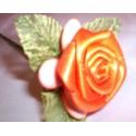 rosa in raso